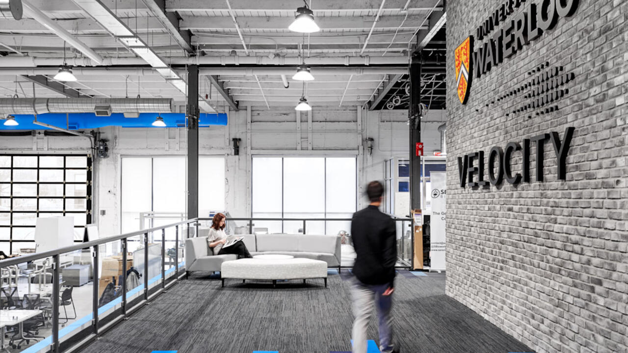 Velocity interior building