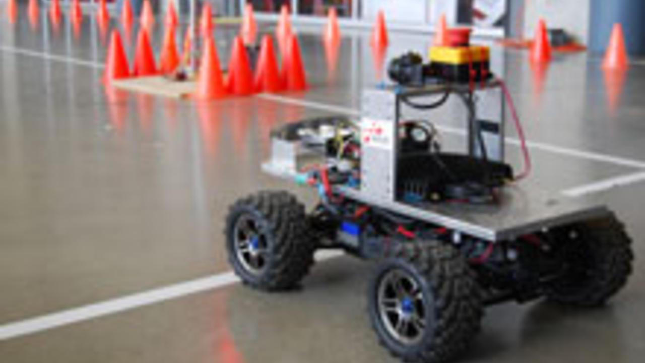 autonomous vehicle robot