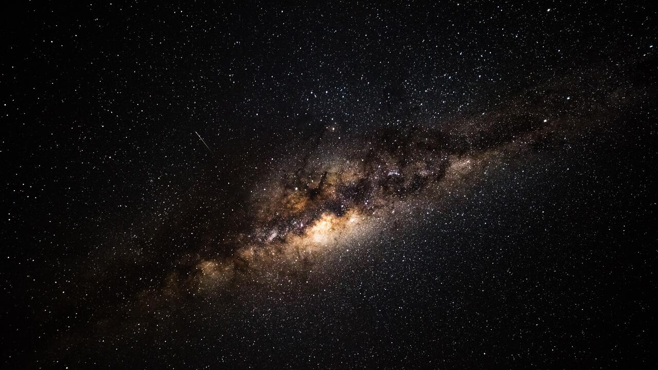 An image of the galaxy