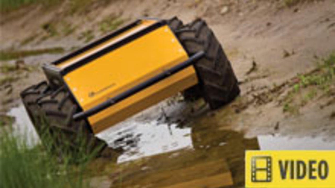 all terrain robot - article contains video