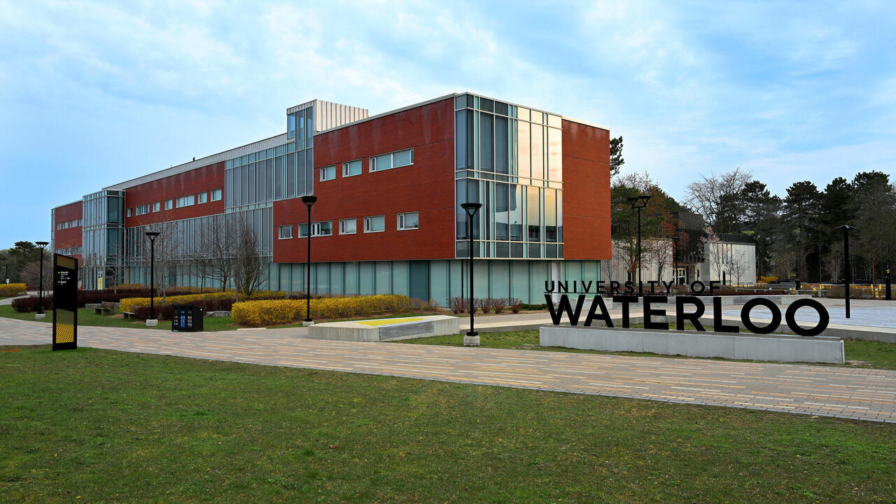 Photo of Tathum Centre and Waterloo sign