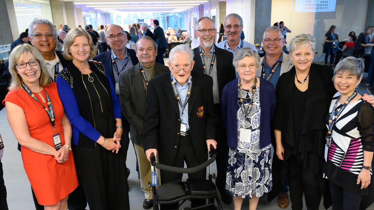 Park and Veva Reilly attend Engineering's 2019 reunion