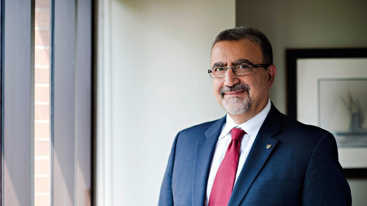 Feridun Hamdullahpur, President and Vice-Chancellor of the University of Waterloo