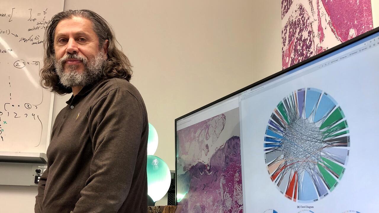 Hamid Tizhoosh is director of the KIMIA Lab at Waterloo Engineering.