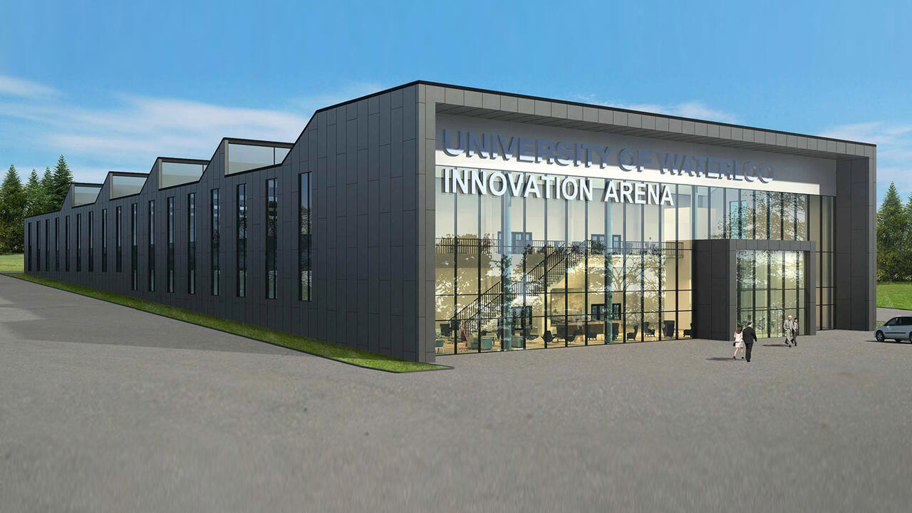 Innovation arena rendering
