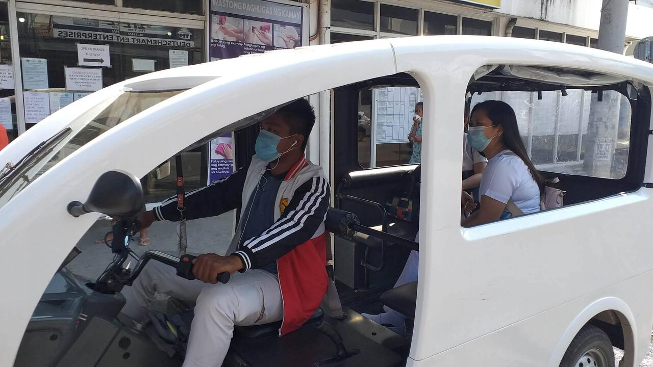 a Philippine's e-trike designed by electrical engineering alum