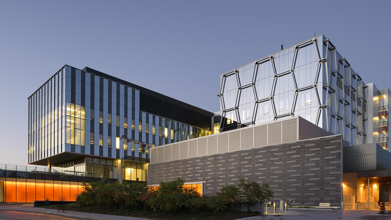 Quantum-Nano Centre at twilight