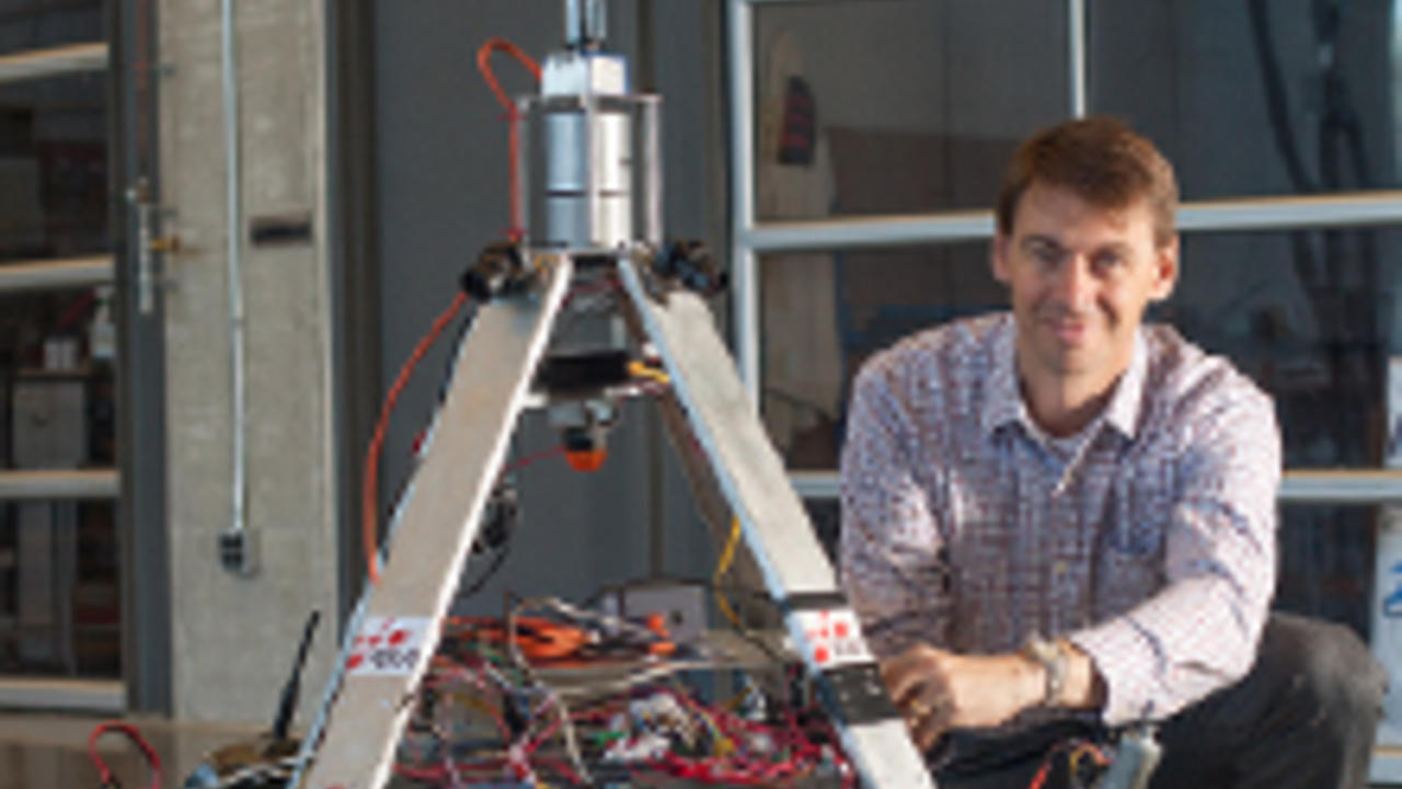 Steve Waslander, Assistant Professor in the department of mechanical and mechatronics engineering at the University of Waterloo