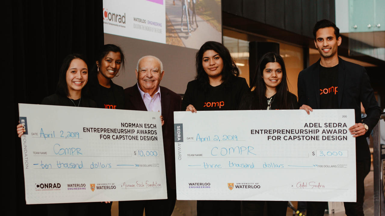 Students win backing for startups at Esch pitch contest