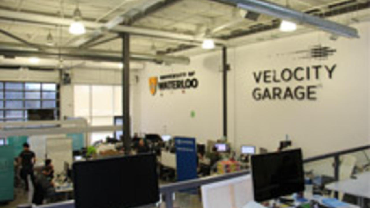 Workspaces inside the Velocity Garage