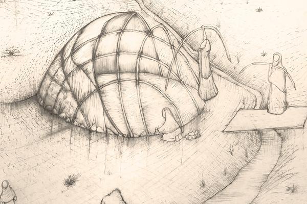 illustration of shelter design