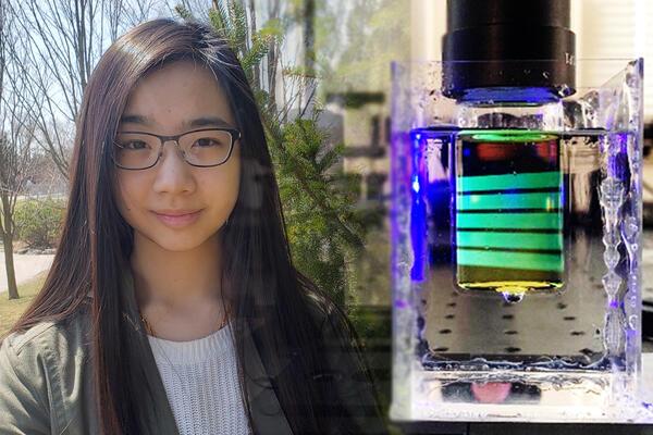 Waterloo Engineering student Kayley Ting.
