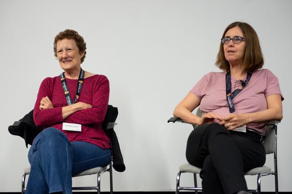 Barbara Liskov and Shafi Goldwasser