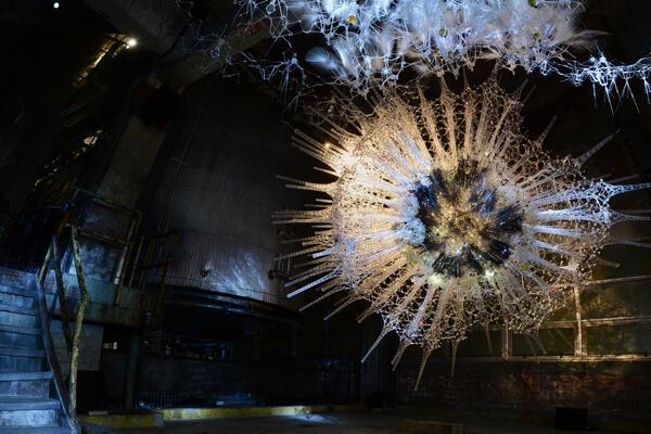 Astrocyte by Waterloo architecture professor Philip Beesley.