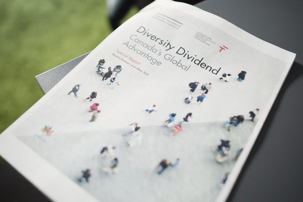 Image of printed diversity dividend report