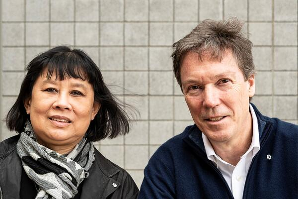 Architects Brigitte Shim and A. Howard Sutcliffe