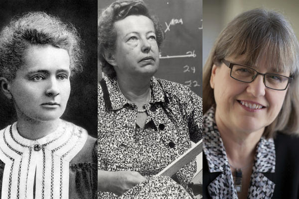 Women who have won the Nobel prize in physics