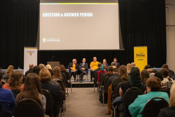 panel at forum