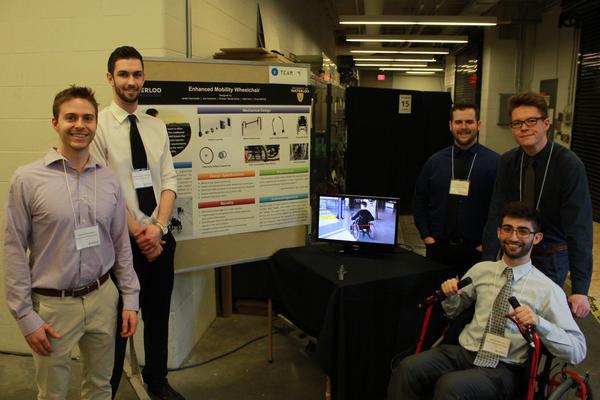 Enhanced Mobility Wheelchair team