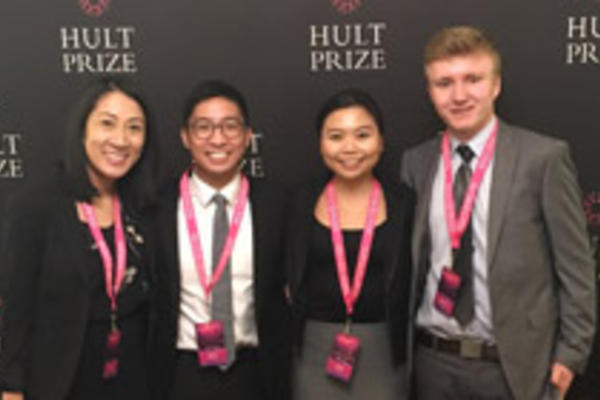 Epoch team: Lisa Tran, Keith Choy, Jade Choy, and BETS student Ryan Schmied