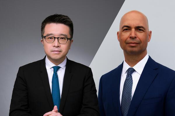 Calvin Choi and Chuck Magro