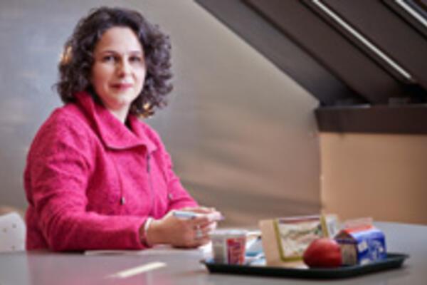 Researcher Heather Keller