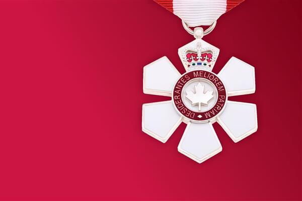 Member of the Order of Canada insignia