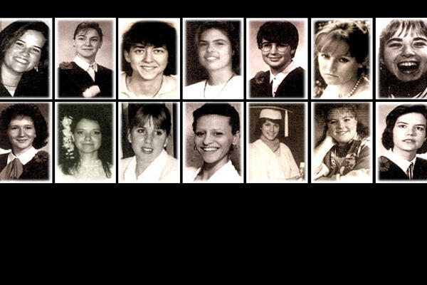 The 14 victims of the December 6 1989 École Polytechnique  shooting