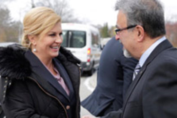 President of Croatia and President Hamdullahpur