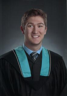 Matthew Schmitz's graduation photo