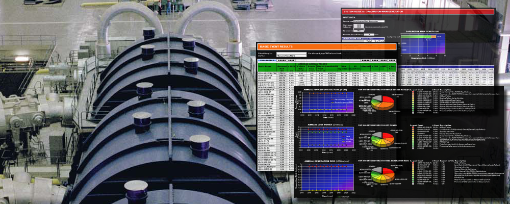 Turbine hall with software screen capture