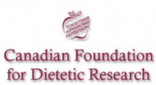 Canadian Foundation for Dietetic Research logo