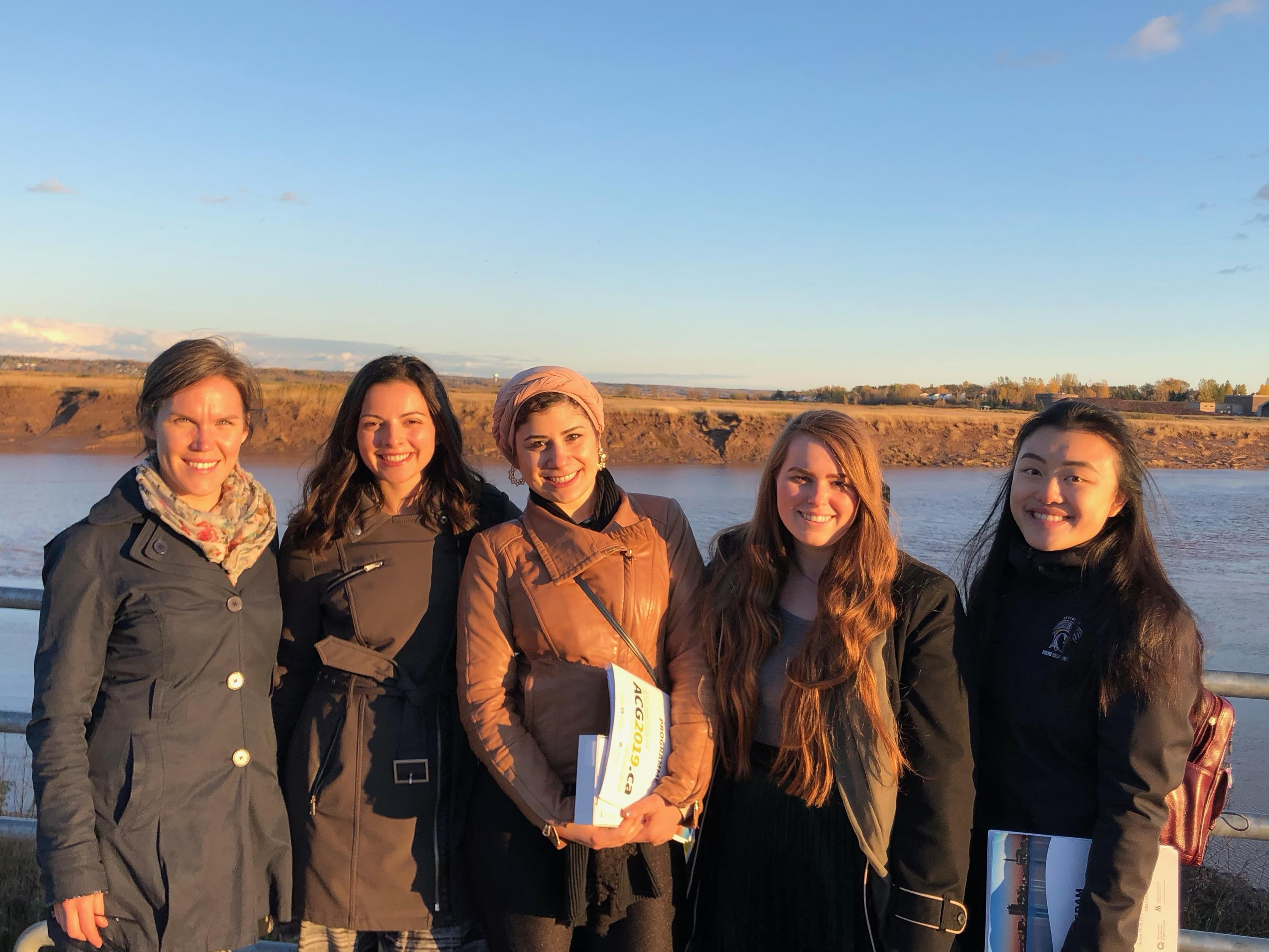 Nutrition and aging lab in front of Petitcodiac River, Moncton