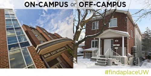 Live on- or off-campus, find a place at the Housing Fair