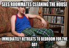 Roommate vanishing meme