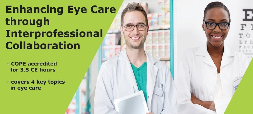 Course image banner of a pharmacist and an optometrist