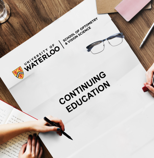 University of Waterloo - The School of Optometry and Vision Science Continuing Education