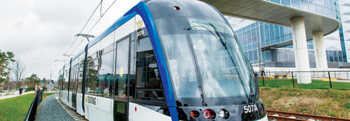Ion light rail train