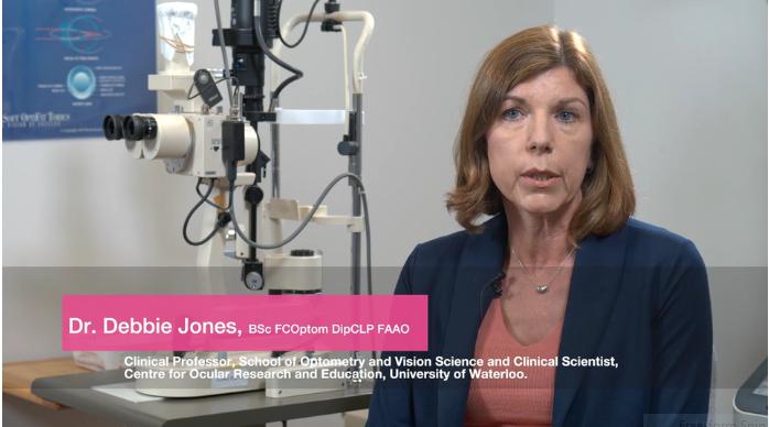 Dr. Debbie Jones speaks about myopia