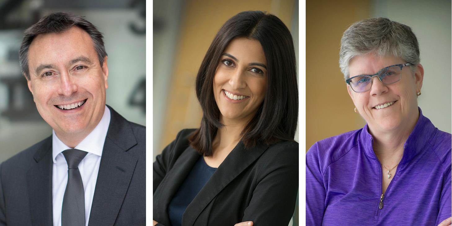 Drs. Lyndon Jones, Shamrozé Khan and Marlee Spafford