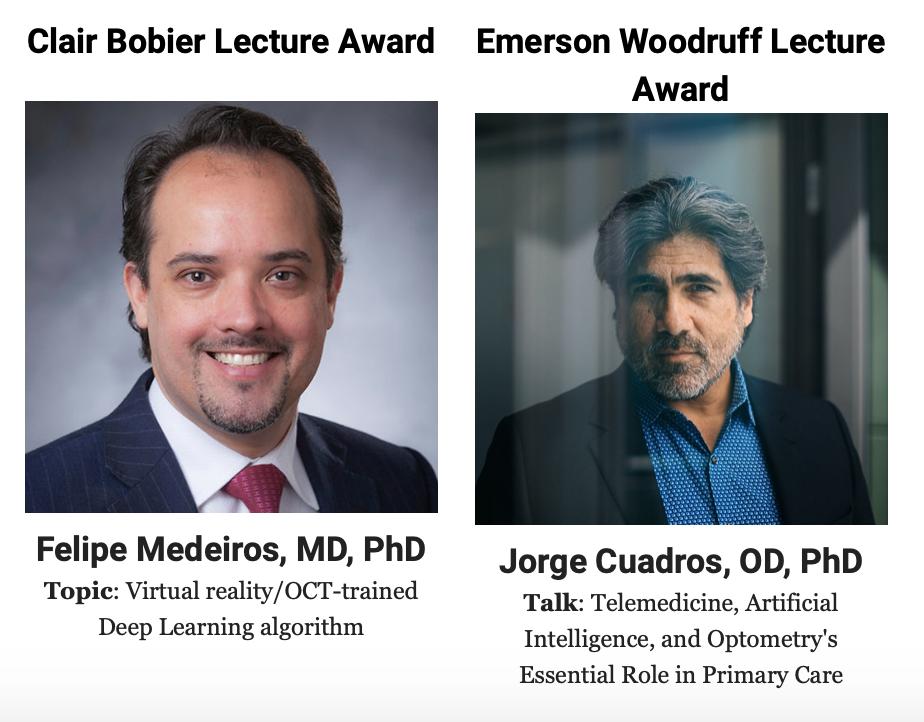 Dr. Felipe Medeiros and Dr. Jorge Cuadros