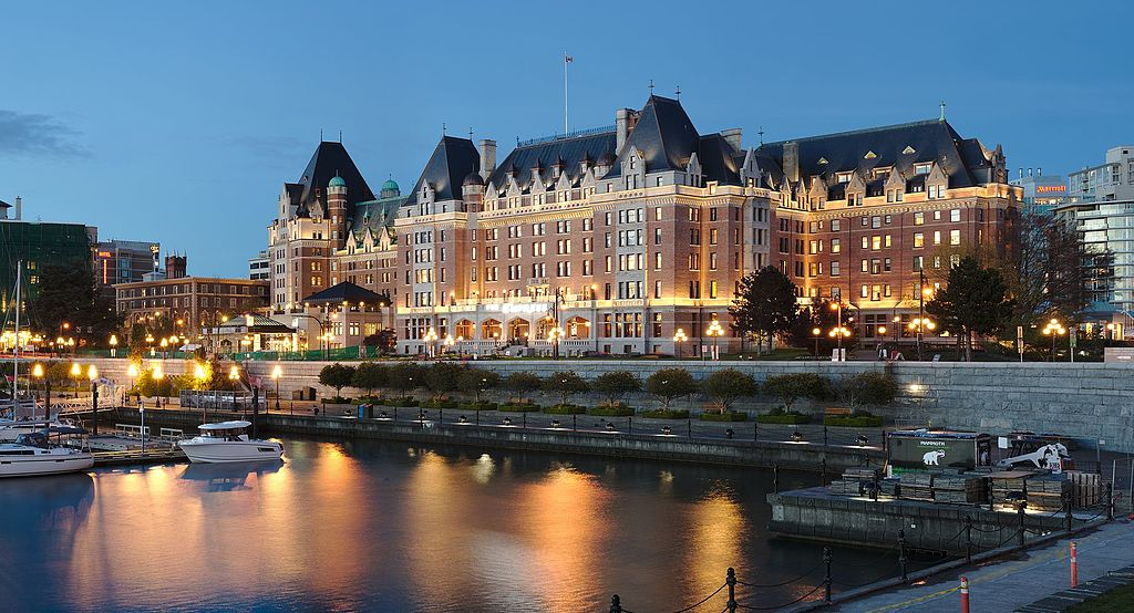 Fairmont Empress in Victoria BC