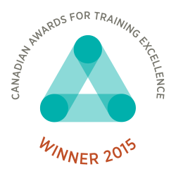 Silver Award for Training Excellence 2015