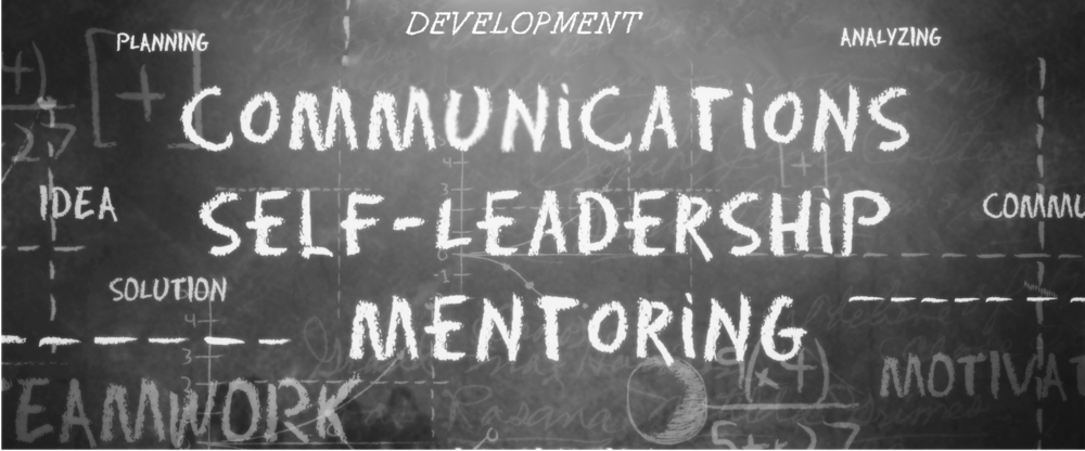 OHD Banner saying Communicatios Self-Leadership Mentoring