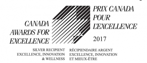 Excellence Canada 2017 Silver award for Excellence, Innovation, & Wellness