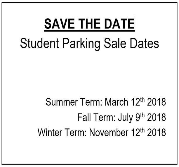 student permit sale dates 2018 uw parking services university of
