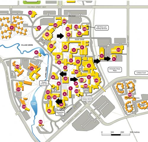 bike locker map