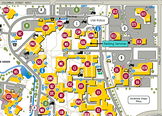 UW Parking Services | University of Waterloo on uw oshkosh campus, uw oshkosh parking map, uw campus plans, university of scranton campus map, college of southern maryland la plata campus map, uw transportation map, uw green bay campus, uw campus virtual tour, uw campus life, uw library map, uwmc campus map, uw health sciences campus map, uw athletics map, uw stevens point map, seattle university parking map, uw seattle campus map, university of washington parking map, uw bookstore map, uw campus map 2 pages, uw football parking map,