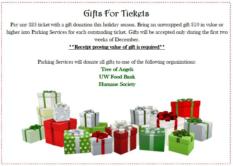Gifts for Tickets