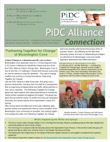 Image of PiDC Alliance Winter 2013 newsletter